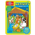 Nativity Magnetic Tin Playset