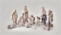 12 Inch Pearlized Nativity Set - 11 Pieces