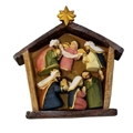 Magnetic Mini Nativity Set in Stable