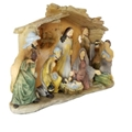 Mini Nativity Single Piece Nativity Scene