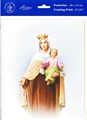 Our Lady of Mount Carmel Framing Print