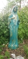 Queen of Peace 24 Inch Vinyl Garden Statue - Choose a color