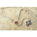 Confirmation Imitation Mother of Pearl Rosary