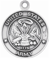 Sterling St Christopher Army Medal