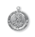 St. Michael Round Medal