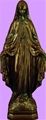 24 inch Our Lady Of Grace - Bronze Finish Plastic Outdoor Statue
