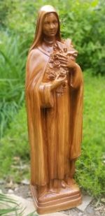 St Theresa Outdoor Vinyl Statue - 24 Inch - Choose a  Color