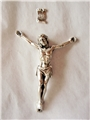 2.375 Inches Pewter Corpus with INRI