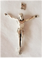 1.625 Inches Pewter Corpus with INRI