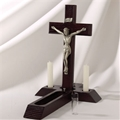 Sick Call Crucifix - Choose Black or Brown