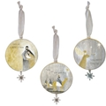 3 Piece Ornament Set - Holy Family, Wise Men and Angel