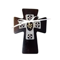 Cherry Wood Confirmation Wall Cross