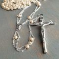 Pearl Ladder Lasso Rosary