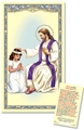 Girl Laminated Act of Contrition Prayer Card
