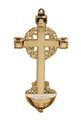 Brass Cross  Holy Water Font