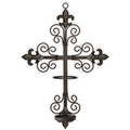 Cross Wall Sconce for LED Candles