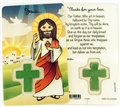 Child's Jesus Laminated Prayer Card