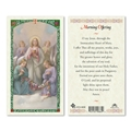 Morning Offering Laminated Prayer Card