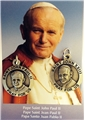 Saints John Paul II and John XXIII 2-sided Medal