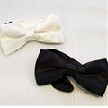 First Communion Bow Tie- Black or White