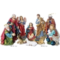 Durable Nativity Set - 12 or 18 Inches