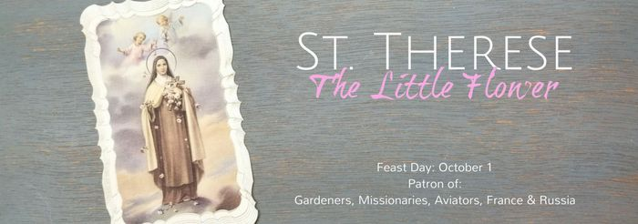 St Therese of Lisieux Sacramentals and Gifts