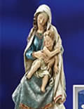 Ave Maria Collection stone resin statues