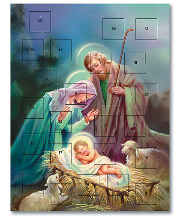 Advent Calendar - Heavenly Peace