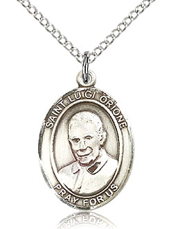 St Lugi Orione Sterling Silver Medal