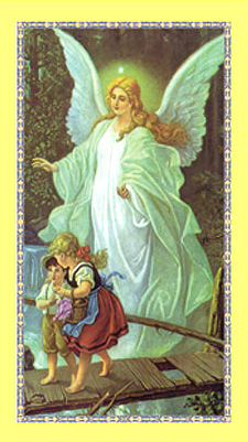 Guardian Angel Holy Card Pack of 100
