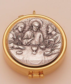 Last Supper Brass Pyx