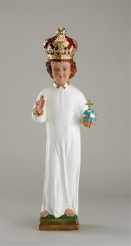 Infant of Prague Statue with Plaster Crown - 24 inch