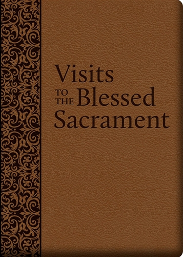 Visits to the Blessed Sacrament with Deluxe Cover