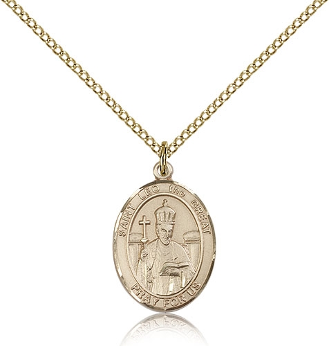 St Leo the Great Gold Filled Medal