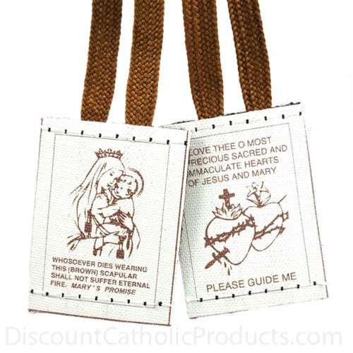 Our Lady of Mt. Carmel Scapular-BR