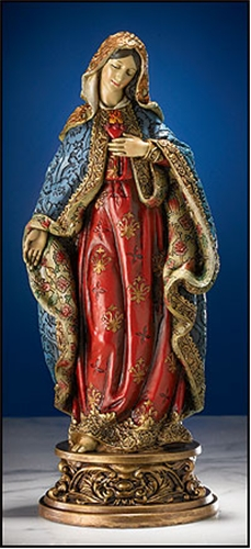 Immaculate Heart of Mary Statue - 9.25 inch