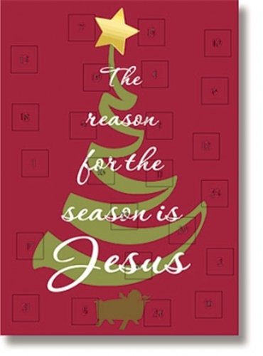 Reason for the Season Advent Calendar with Envelope
