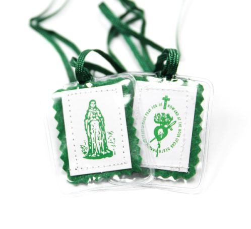 Among Mary's Gifts Green Scapular