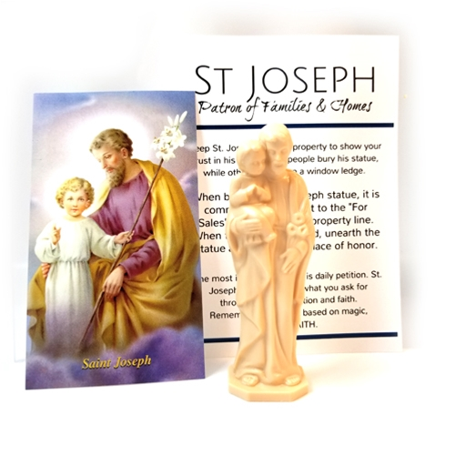 Saint Joseph with Child Home Sale Kit